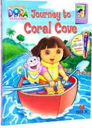 Dora The Explorer Journey to Coral CoveMy Poingo Book & Cartridge