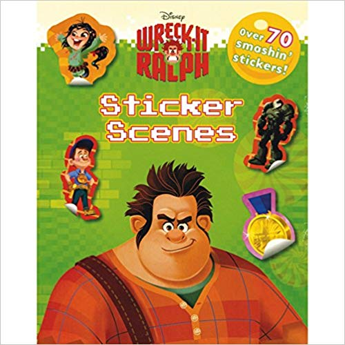 Disney Wreck-It Ralph Sticker Scenes