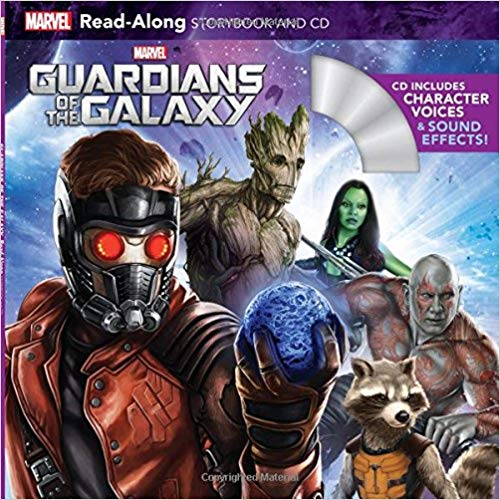 Guardians of the Galaxy Read-Along Storybook and CD