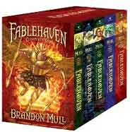 Fablehaven Complete Set Boxed Set: Fablehaven; Rise of the Evening Star; Grip of the Shadow Plague; Secrets of the Dragon Sanctuary; Keys to the Demon Prison