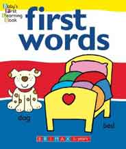 Baby`s First Learning Book: First Words -