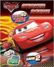 Cars Amazing Sticker Scene