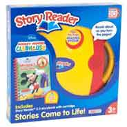 Story Reader 20 and Mickey Mouse Clubhouse Storybook