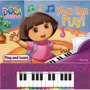 DORA THE EXPLORER - YOU CAN PLAY (Learn to Play Piano Book)
