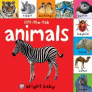 Animals Bright Baby Liftthetab Books