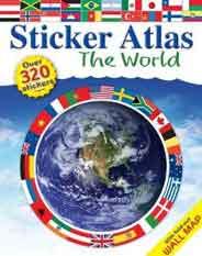 Sticker Atlas: The World