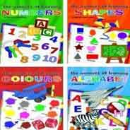 Lets Learn A Sparkly Board Book Numbers Colours Opposites Shapes
