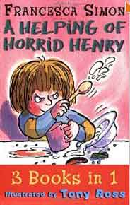 A Helping of Horrid Henry      3 Book In 1