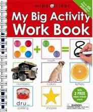Wipe Clean My Big Activity Work Book Spiralbound