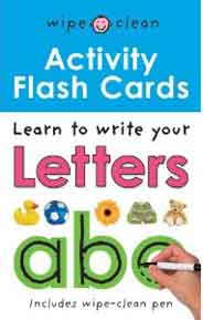 Letters ABC Flashcards (Wipe Clean Activity)