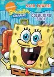 Spongebob Squarepants Colouring Book
