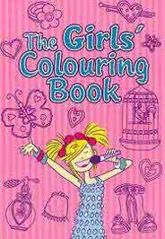 The Girls Colouring Book