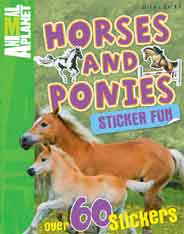 Sticker Fun: Horses