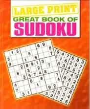 Great Book of Sudoku Large Print Puzzles -