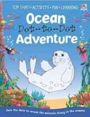 Dot To Dot Activity Book Ocean Adventure