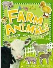 Busy Kids: Farm Animals Sticker Activity Book