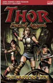 Thor Son Of Asgard: The Warriors Teen Marvel Pocket Books