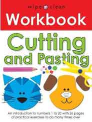 Cutting and Pasting Motor Skills Workbook