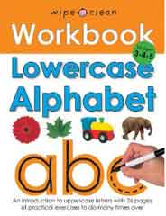 Wipe Clean Work Books: Lowercase Alphabet