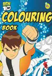 Ben 10 Colouring Book # 2