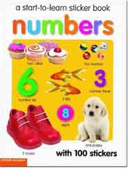 Start to Learn Sticker Numbers