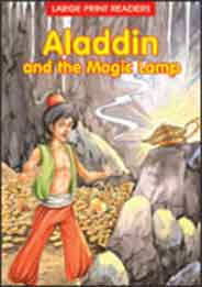 Aladdin and the Magic Lamp Large Print Readers