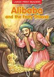 Alibaba and the Forty Thieves Large Print Readers -