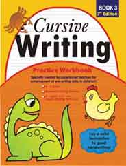 Cursive Writing Practice Workbook # 3