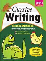 Cursive Writing Practice Workbook 4