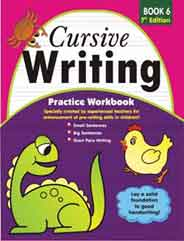 Cursive Writing Practice Workbook 6 (7th Edition)