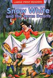 Snow White and the Seven Dwarfs Large Print Readers -