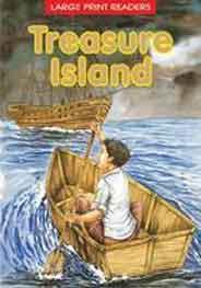 Treasure Island Large Print Readers -
