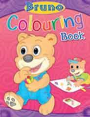 Bruno Colouring Book