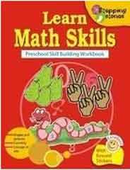 Learn Math Skills: Preschool skill Building Workbook     (Stepping Stone Series)      -     (PB)