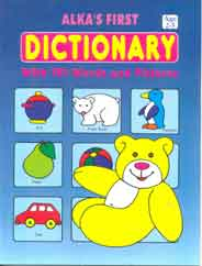 Alkas First Dictionary With 151 Words And Picture