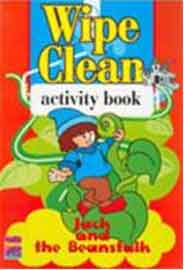 Wipe And Clean Activity Book Jack And The Beanstalk