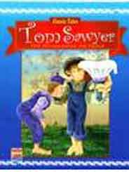 Classic Tales Tom Sawyer: Tom Whitewashes The Fenc -