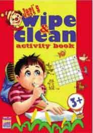 Jeris Wipe And Clean Activity Book Red