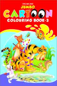 Jumbo Cartoon Colouring Book  3