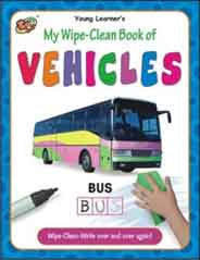 My Wipe Clean Book of Vehicles