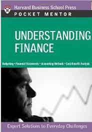 Pocket Mentor Understanding Finance