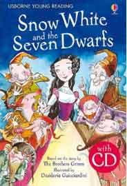 Snow White and the Seven Dwarfs: Year 1 Young Reading CD Packs: Usborne EnglishUpper Intermediate