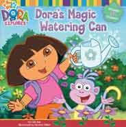 Doras Magic Watering Can Dora the Explorer Simon Spotlight