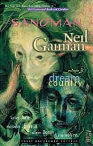The Sandman, Vol. 3: Dream Country    -     [PB]