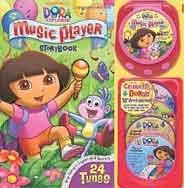 Dora Music Player 10th Anniversary Edition Music Player Storybook -