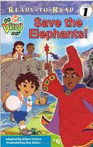 Save the Elephants ReadyToRead Go Diego Go  Level 1
