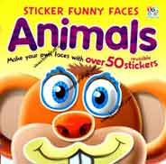 Funny Animals Sticker Funny Faces