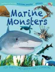 Marine Monsters Puzzle Activity Sticker Books