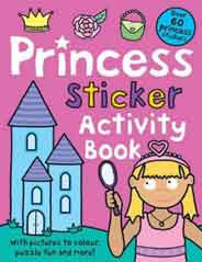 Princess Sticker Activity Book Preschool Sticker Activity Books