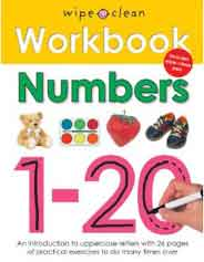 Numbers 120 Wipe Clean Workbooks